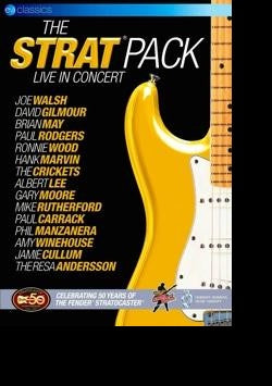 THE STRAT PACK LIVE IN CONCERT BLURAY VG