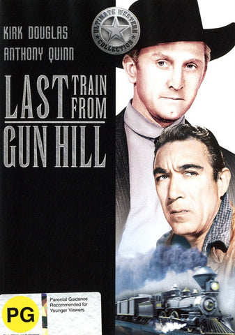 LAST TRAIN FROM GUN HILL DVD VG