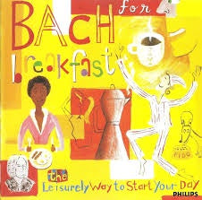 BACH FOR BREAKFAST-VARIOUS ARTISTS CD VG+