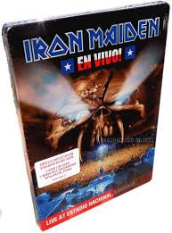 IRON MAIDEN-EN VIVO! STEELBOOK 2DVD *NEW*