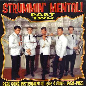 STRUMMIN MENTAL PART TWO-VARIOUS ARTISTS CD *NEW*