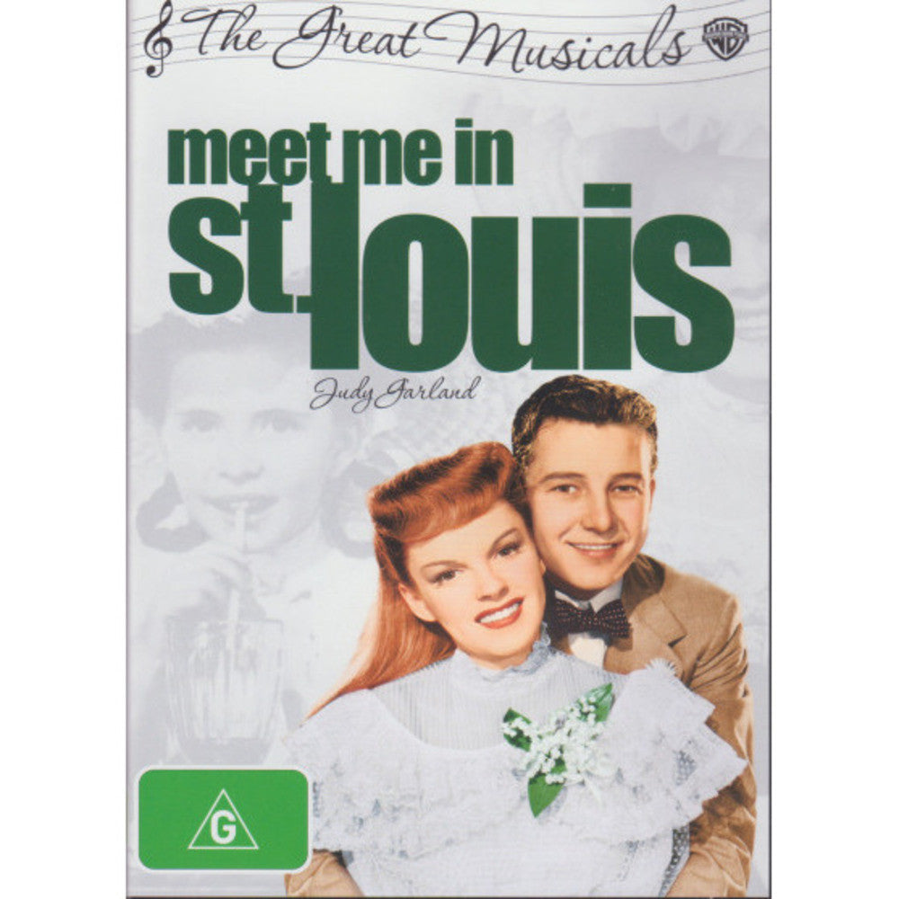 MEET ME IN ST LOUIS DVD VG