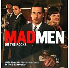 MAD MEN-ON THE ROCKS MUSIC FROM THE TV SERIES CD *NEW*