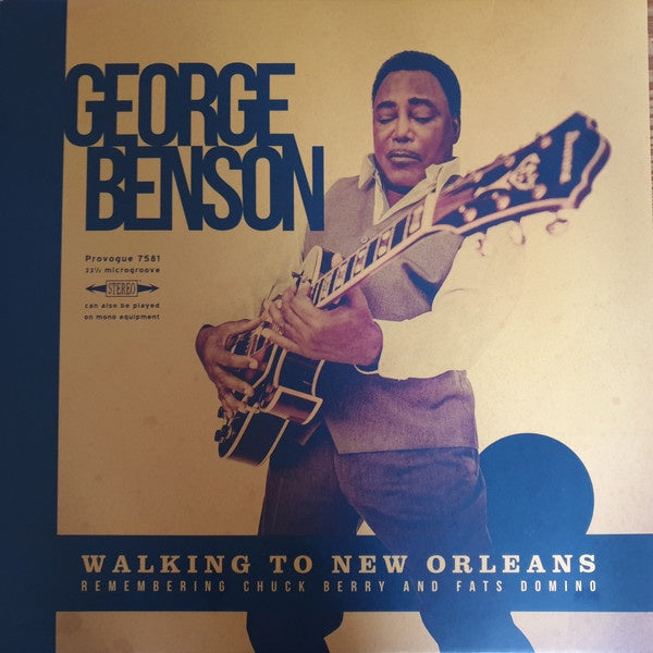BENSON GEORGE-WALKING TO NEW ORLEANS REMEMBERING CHUCK BERRY & FATS DOMINO YELLOW VINYL LP *NEW*