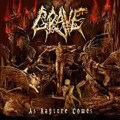 GRAVE-AS RAPTURE COMES CD VG