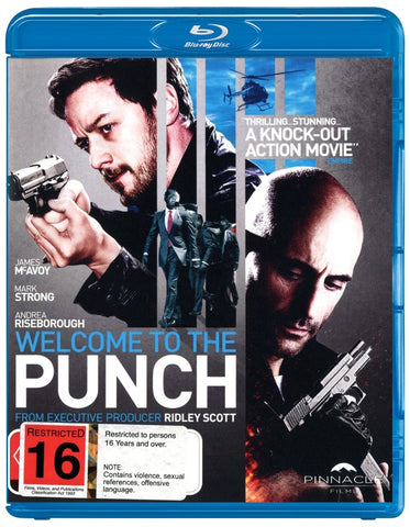 WELCOME TO THE PUNCH BLURAY VG+