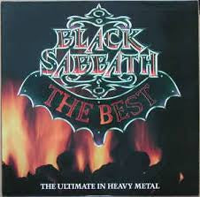 BLACK SABBATH-THE BEST LP NM COVER VG+