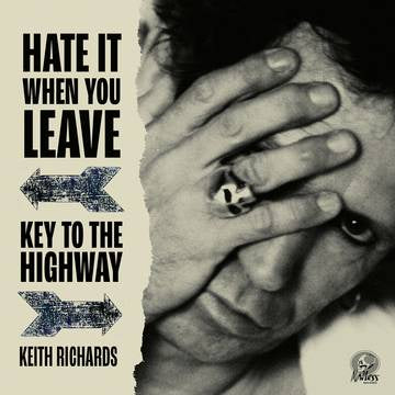 "RICHARDS KEITH-HATE IT WHEN YOU LEAVE RED VINYL 7"" *NEW*"