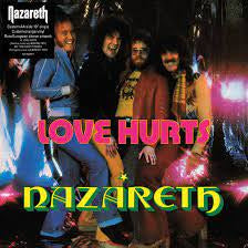 "NAZARETH-LOVE HURTS ORANGE VINYL 10"" *NEW*"