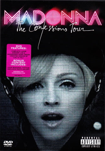 MADONNA-THE CONFESSIONS TOUR DVD VG