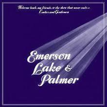 EMERSON LAKE & PALMER-WELCOME BACK, MY FRIENDS, TO THE SHOW THAT NEVER ENDS-LADIES & GENTLEMEN 3LP VG COVER G