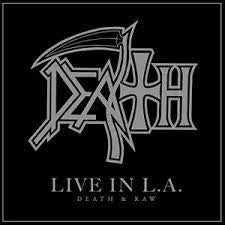 DEATH-LIVE IN L.A. DEATH & RAW 2LP *NEW*
