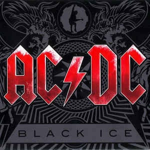 AC/DC-BLACK ICE CD VG