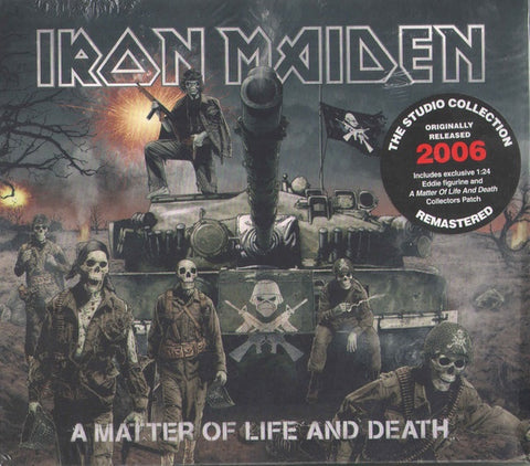 IRON MAIDEN-A MATTER OF LIFE & DEATH COLLECTORS EDITION CD BOX SET *NEW*