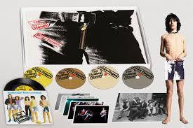"ROLLING STONES THE-STICKY FINGERS DELUXE 3CD+DVD+7"" *NEW*"