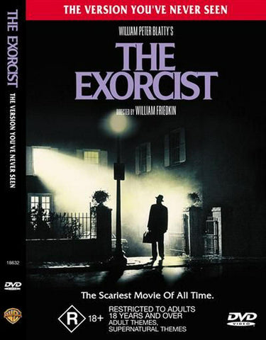 EXORCIST THE DVD VG REGION 2