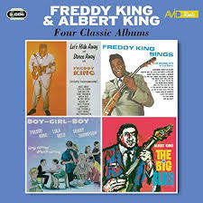 KING FREDDY & ALBERT-FOUR CLASSIC ALBUMS 2CD *NEW*