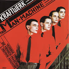 KRAFTWERK-THE MAN MACHINE LP EX COVER VG+