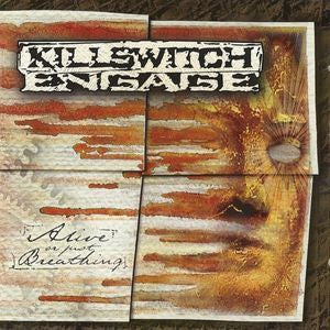 KILLSWITCH ENGAGE-ALIVE OR JUST BREATHING CD VG
