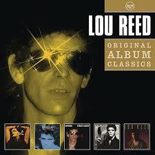 REED LOU-ORIGINAL ALBUM SERIES 5CD VG+