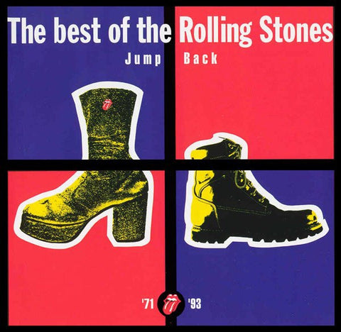 ROLLING STONES THE- THE BEST OF/JUMP BACK CD VG