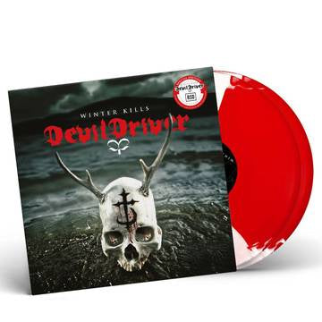 DEVILDRIVER-WINTER KILLS RED/ WHITE VINYL 2LP *NEW*