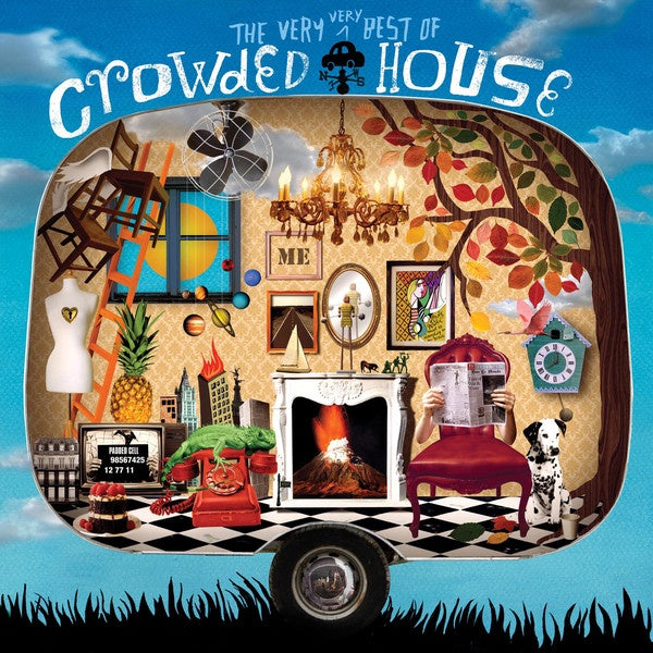 CROWDED HOUSE-THE VERY VERY BEST OF 2CD VG