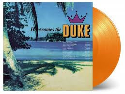 HERE COMES THE DUKE-VARIOUS ARTISTS ORANGE VINYL LP *NEW*