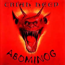 URIAH HEEP-ABOMINOG LP G COVER G