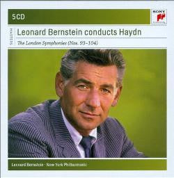 BERNSTEIN LEONARD-CONDUCTS HAYDN 5CD *NEW*