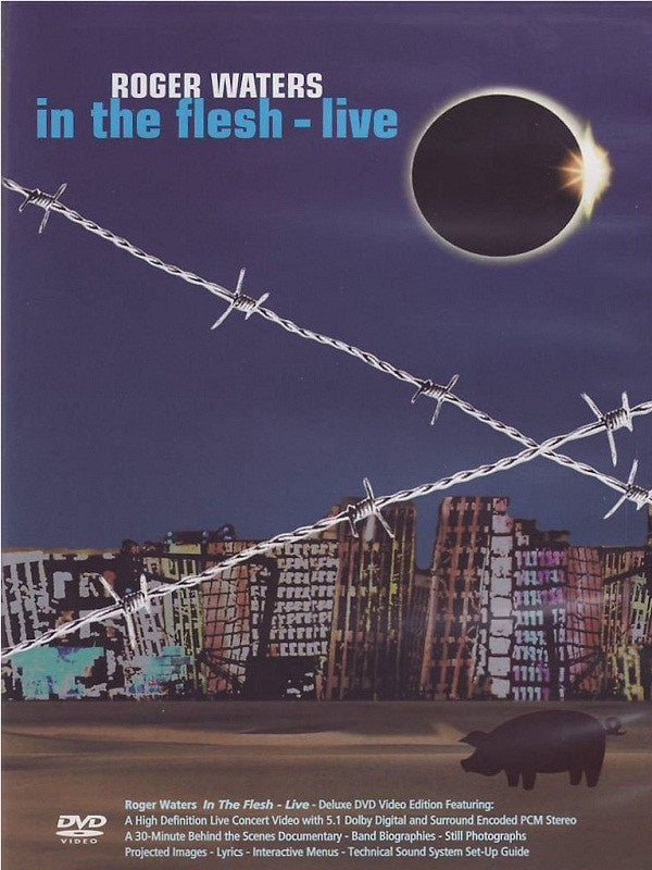 WATERS ROGER-IN THE FLESH LIVE DVD *NEW*