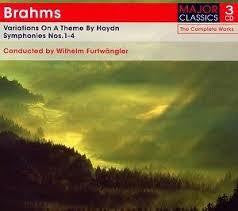 BRAHMS-SYMPH 1 TO 4 VARIATIONS ON A THEME 3CD *NEW*