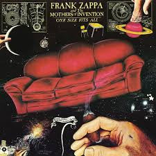 ZAPPA FRANK / MOTHERS OF INVENTION -ONE SIZE FITS ALL LP EX COVER EX