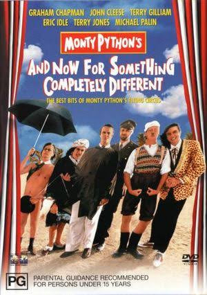 MONTY PYTHON'S AND NOW FOR SOMETHING COMPLETELY DIFFERENT DVD VG