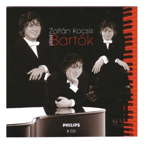 BARTOK-ZOLTAN KOCSIS PLAYS WORKS FOR SOLO PIANO 8CD VG