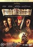 PIRATES OF THE CARIBBEAN CURSE OF BLACK PEARL DVD NM
