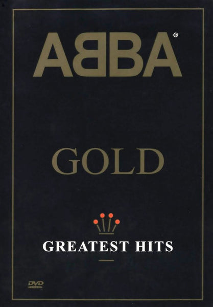 ABBA-GOLD GREATEST HITS DVD VG