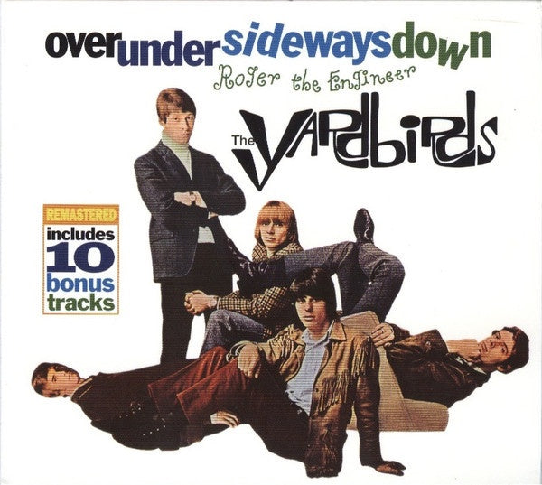 YARDBIRDS THE-OVER UNDER SIDEWAYS DOWN / ROGER THE ENGINEER CD VG