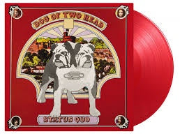 STATUS QUO-DOG OF TWO HEAD RED VINYL  LP *NEW*