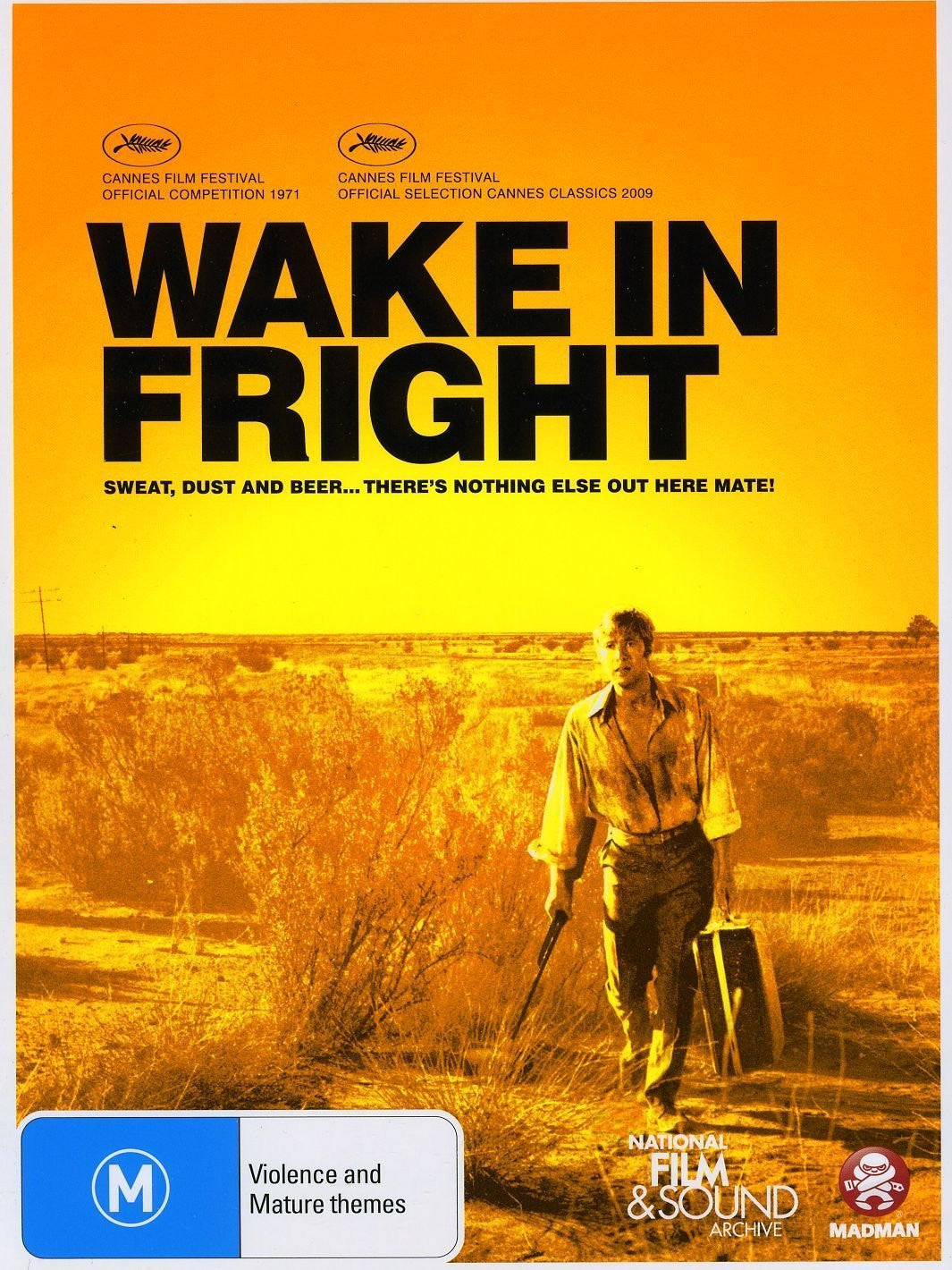 WAKE IN FRIGHT DVD VG