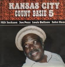 BASIE COUNT-KANSAS CITY 5 LP VGPLUS COVER VG