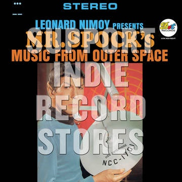 NIMOY LEONARD-PRESENTS MR SPOCK'S MUSIC FROM OUTER SPACE LP *NEW*