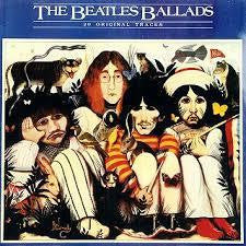 BEATLES THE-THE BEATLES BALLADS LP EX COVER VG+