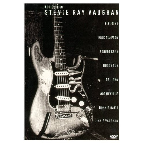 TRIBUTE TO STEVIE RAY VAUGHAN-VARIOUS ARTISTS DVD VG