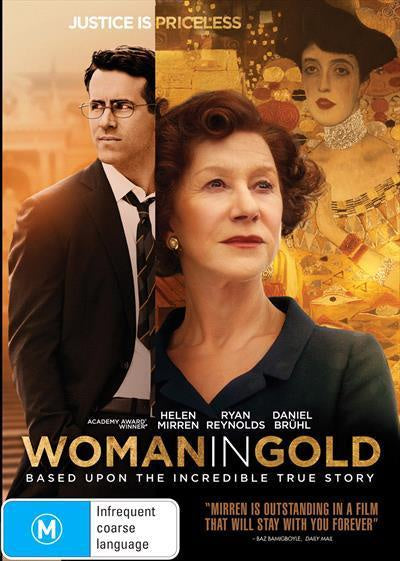 WOMAN IN GOLD DVD VG
