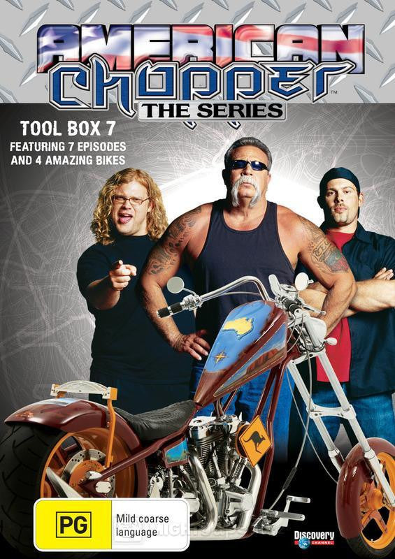 AMERICAN CHOPPER TOOL BOX 7-3DVD BOXSET