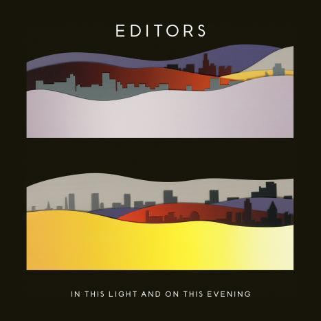 EDITORS-IN THIS LIGHT & ON THIS EVENING 2CD VG