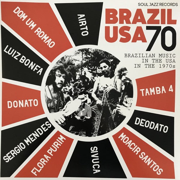 BRAZIL USA 70-VARIOUS ARTISTS 2LP *NEW*