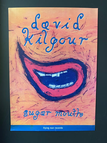 KILGOUR DAVID-SUGAR MOUTH ORIGINAL PROMO POSTER