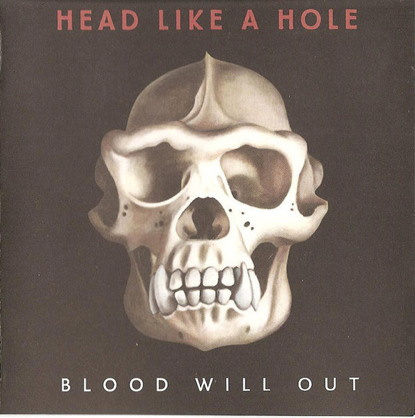 HEAD LIKE A HOLE-BLOOD WILL OUT CD VG